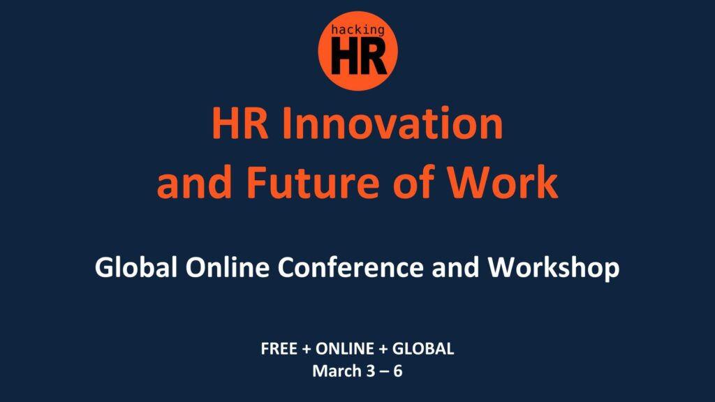 Hacking HR is a remote event about the future of work