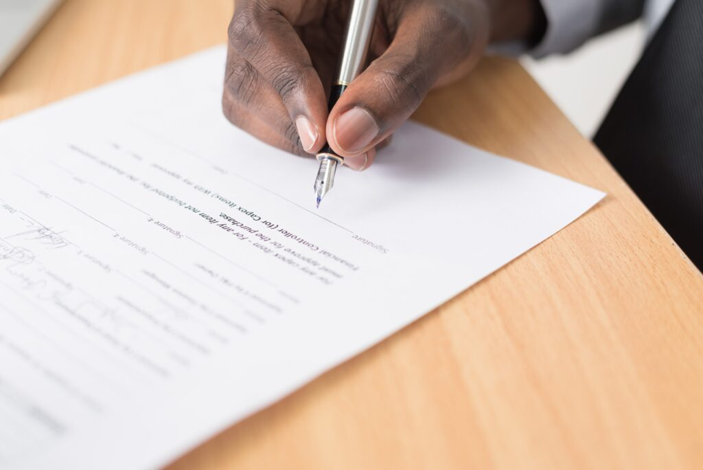 contractual agreement for compliance with labour laws